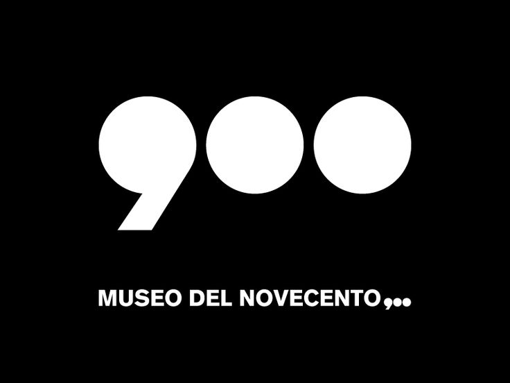Museo del Novecento - Corporate Identity / Stage - work developed during internship at PITIS 2008