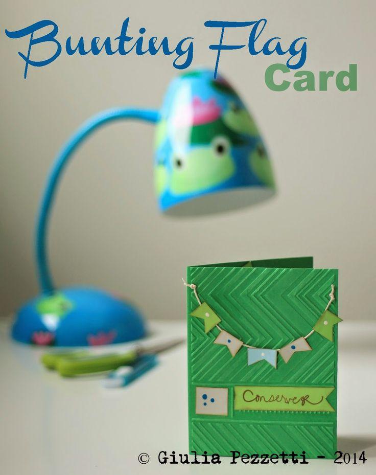 Bunting Flag Card