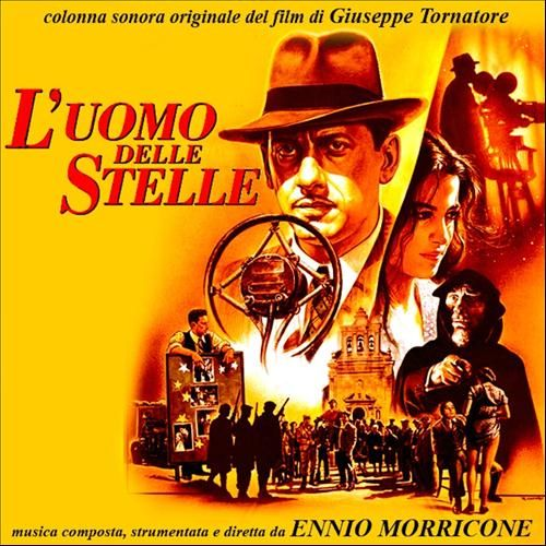 L'Uomo delle stelle is a 1995 Italian language motion picture. It was produced by Rita Cecchi Gori, Vittorio Cecchi Gori, directed by Giuseppe Tornatore, while the title role was played by Sergio Castellitto.  It was nominated for the Academy Award for Best Foreign Language Film.