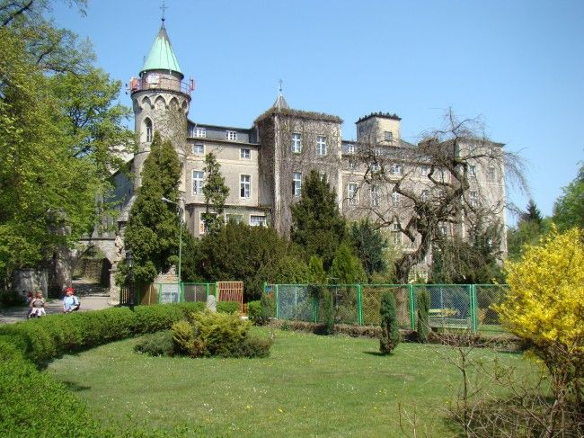 Zamek Leśna w Szczytnej. Data powstania zamku to lata 1831–1837, wówczas to właściciel Szczytnej, major i hrabia Leopold von Hochberg wybudował swoją rezydencję niedaleko miejsca, w którym pod koniec XVIII w. Prusacy wybudowali Fort na Szczytniku. W 2006 orzeczeniem Komisji Majątkowej przy MSWiA oddano zamek Domowi Zakonnemu Misjonarzy Świętej Rodziny. W 2007 powstało Bractwo Rycerskie Matki Bożej Królowej Pokoju w Szczytnej.