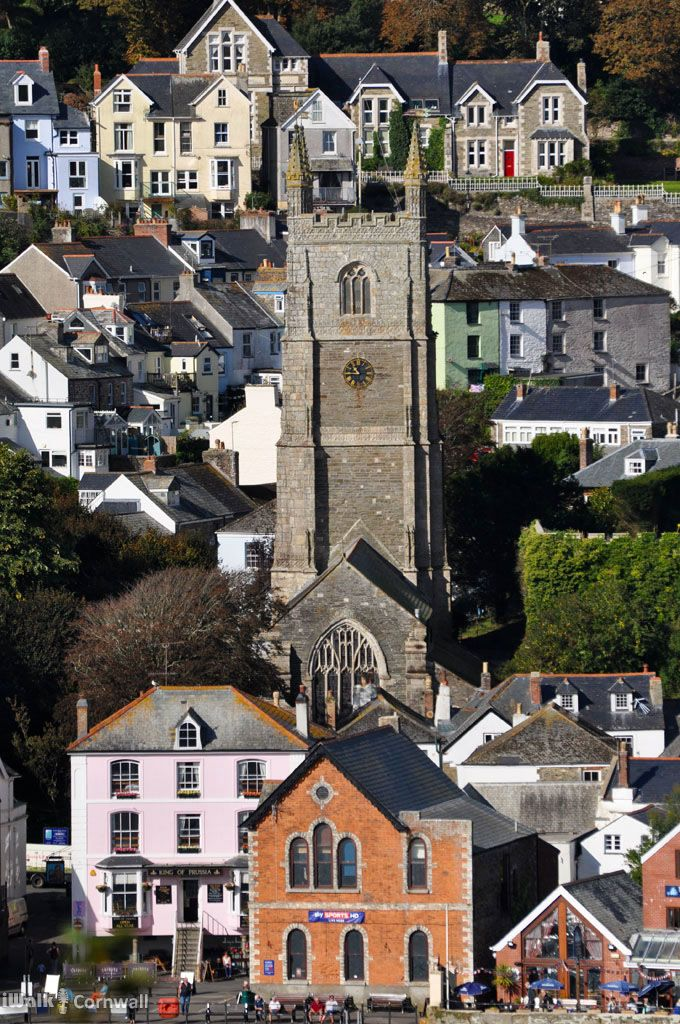 Fowey Church, Cornwall