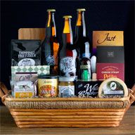 9 best Beer Gift Baskets images on Pinterest | Beer gift baskets ...