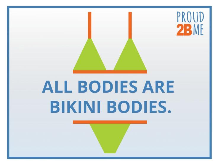 9 Ways to Combat Society's Obsession with Bikini Bodies
