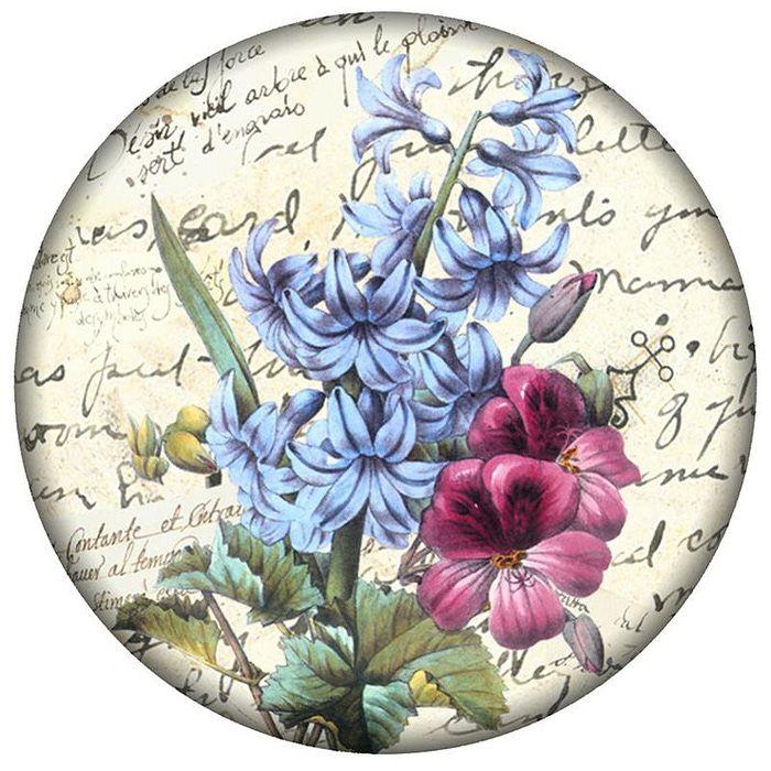 Открыток новый, круглые открытки с цветами