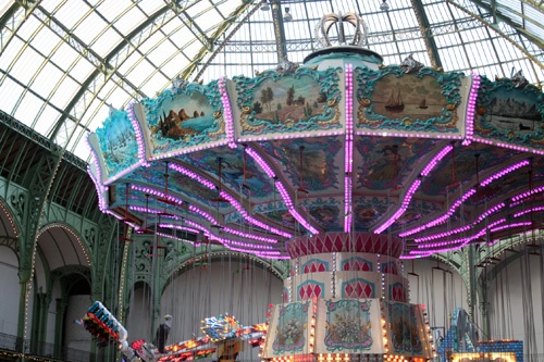 Jours de fêtes au Grand Palais