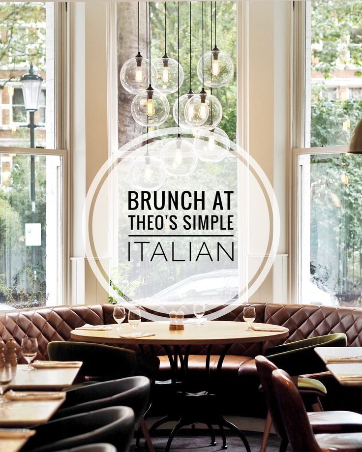 Angloyankophile - Brunch at Theo's Simple Italian