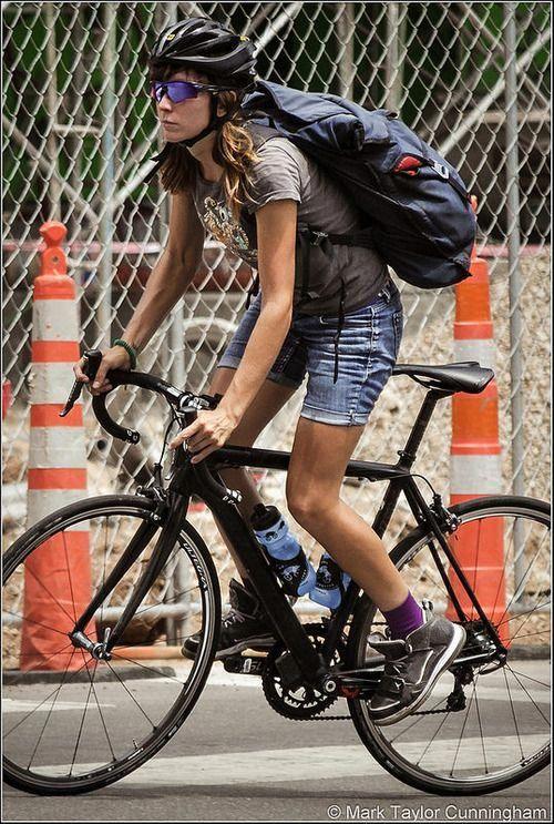 Bicycle Maintenance Bicycle Bike Messenger Female Cyclist