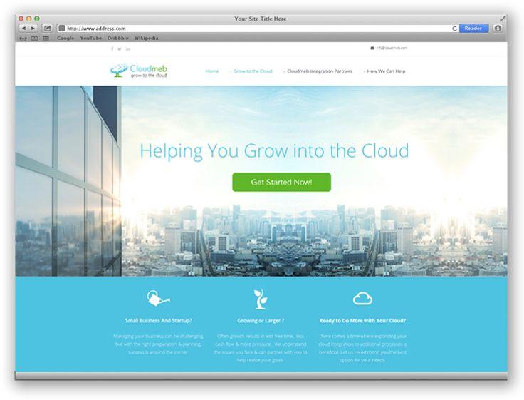 Cloudmeb | Web Design Portfolio | Other Industries | Toronto | Richmond Hill | North Toronto | www.magentadesign.ca