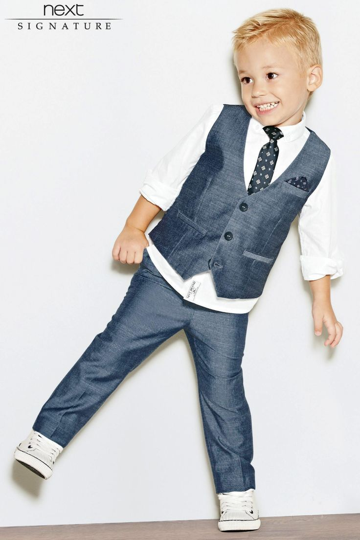 page boy outfit, by NEXT for George and leighton