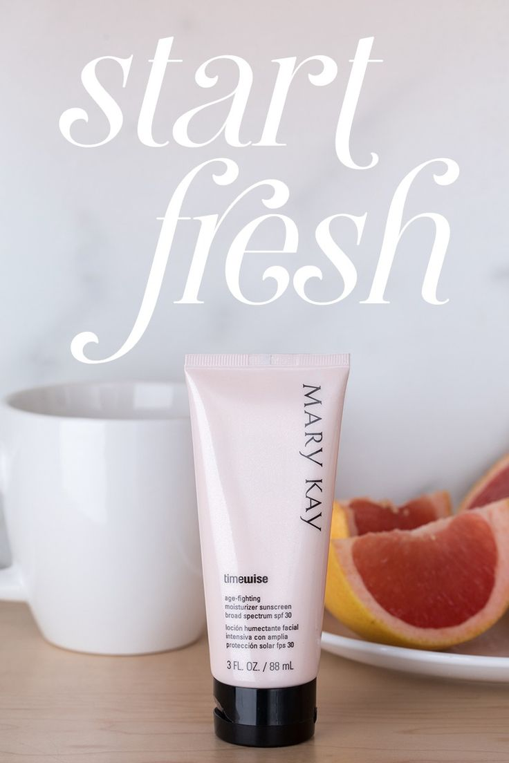 Healthy breakfast. Age-fighting skin care. TimeWise® Age-Fighting Moisturizer is formulated with a patented† complex that reduces the appearance of fine lines and wrinkles. It also contains a powerful antioxidant to help guard against free radical damage. | Mary Kay