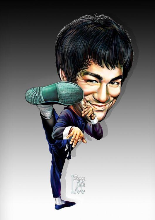 Bruce Lee. Él sabía cosas......