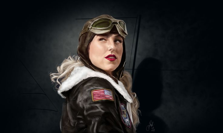 Pilot, Vlad. Mineev on ArtStation at https://www.artstation.com/artwork/Jkwon