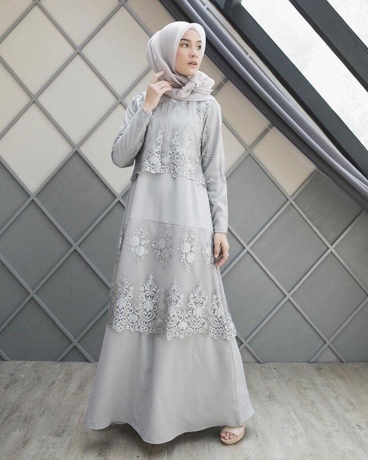 "15.8k Likes, 57 Comments - Dwi Handayani Syah Putri (@dwihandaanda) on Instagram: ""Dress from @ainayya.id 💙 so simple and beautiful with lace details 💙"""