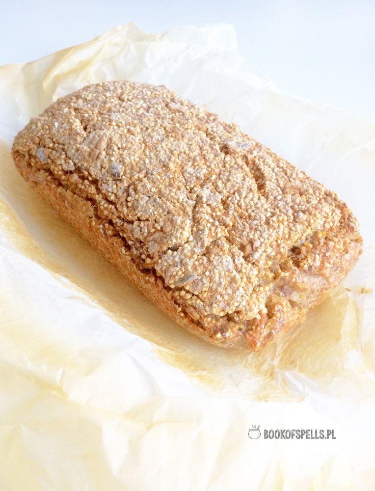 Bezglutenowy chleb z kaszy jaglanej i gryczanej || millet and buckwheat gluten free bread