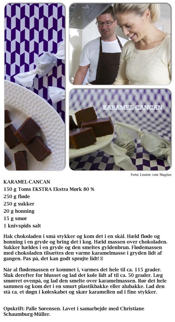 Hjemmelavede chokoladekarameller til din søde tand