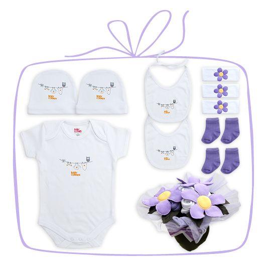 Standart Bebek Buketi - lila 3-6 months / ay Sadece 82.90TL. Üstelik Kapıda Ödeme ve Kredi Kartına Taksit Avantajı İle