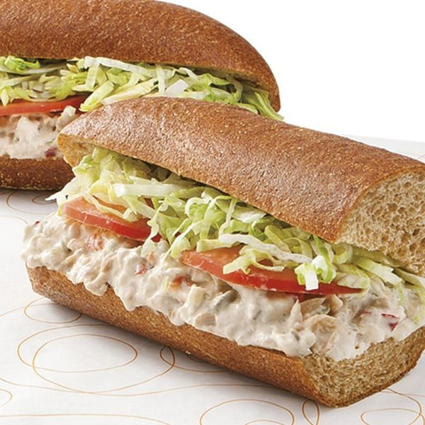 Publix Deli Tuna Salad Sub, Half