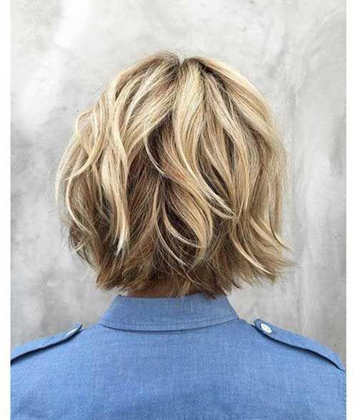 Choppy Bob Short Haircut
