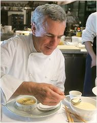 """@David Nilsson Bouley has twice received a James Beard Foundation Award for """"Best Chef"""", and has received """"Best Restaurant"""" awards by the James Beard Foundation.     Read more: 2012 New York Culinary Experience http://nyce.nymag.com/chefs.html#bellanca#ixzz1rx8jtbcw"""