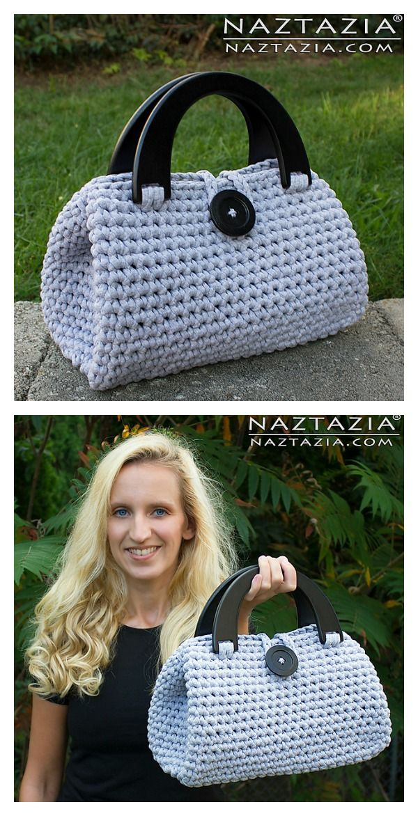 Easy Crochet Casual Friday Handbag Free Pattern