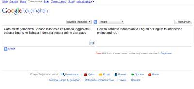 Menerjemahkan Bahasa Indonesia ke Bahasa Inggris - English to Indonesia - Penerjemah Online dan Gratis - 64mes