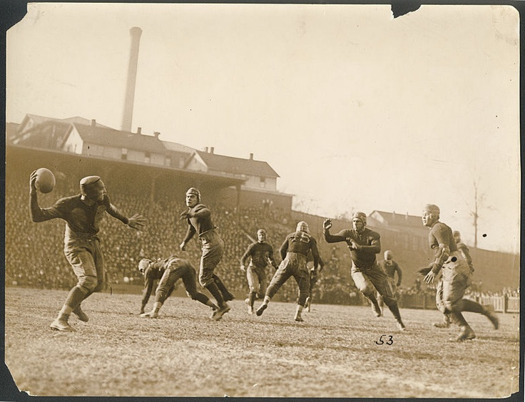Tech Auburn football game Thanksgiving 1921