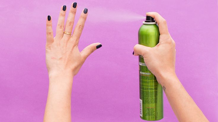 Beauty Mythbuster: Is Hairspray REALLY the Secret to Speedy Nail Polish Drying? via Brit + Co