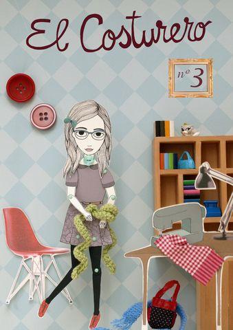 #Cover nº 3 El Costurero. By Píntame el día. Coming soon #craft #book