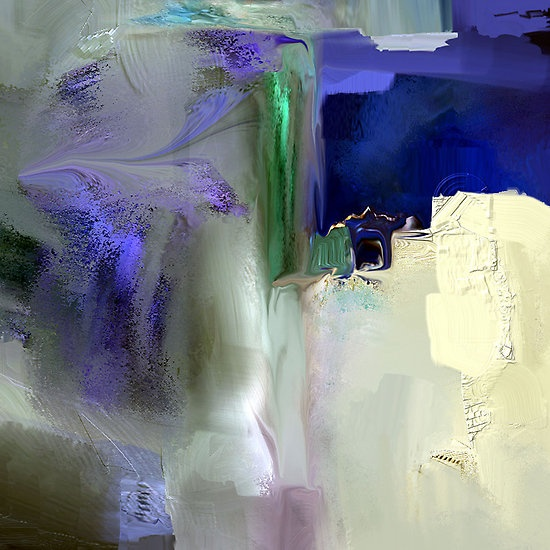 Sapphire Night 2 by @mmdavina #abstract. Love the intense colors