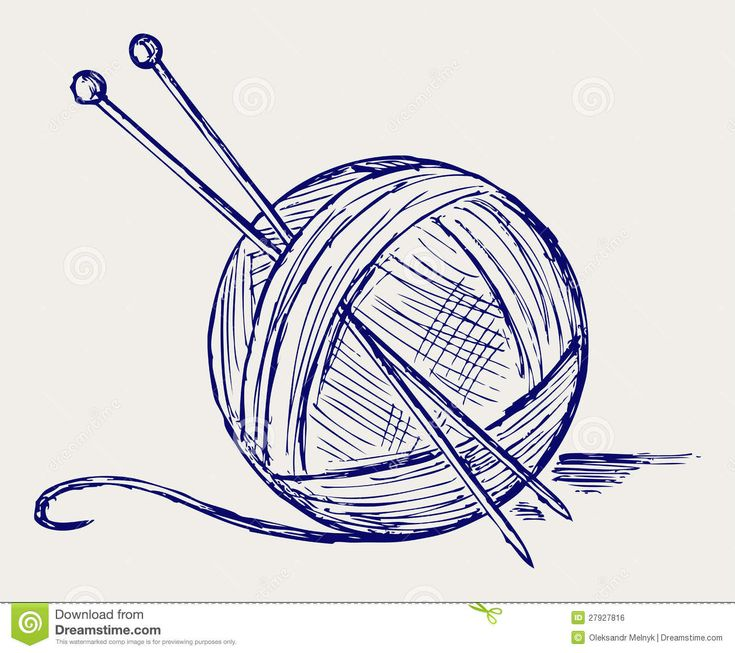 Knitting Needles And Yarn Clip Art : Best images about things that are lovely on pinterest