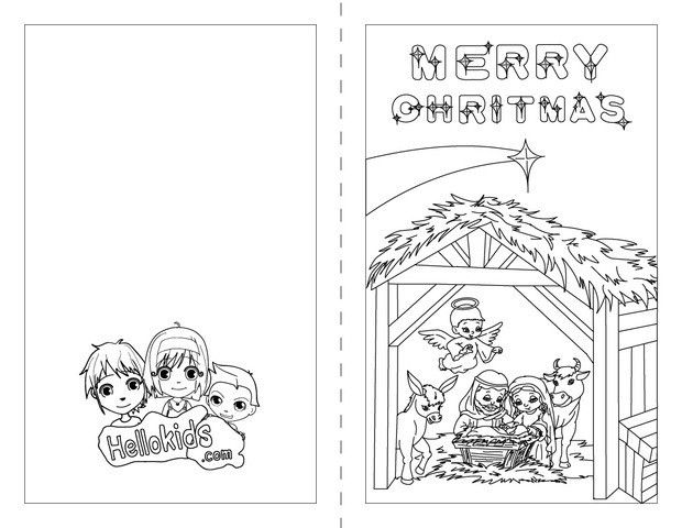 46 best CHRISTMAS CARDS TO COLOR images on Pinterest  Christmas