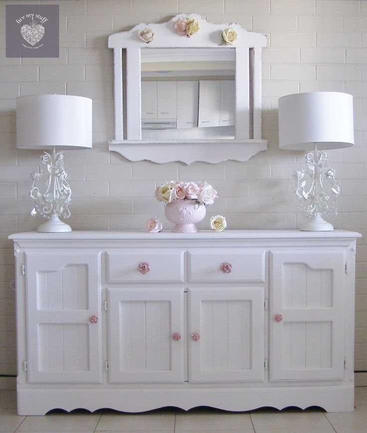 best 25 shabby chic sideboard ideas on pinterest shabby chic buffet white buffet and gray. Black Bedroom Furniture Sets. Home Design Ideas