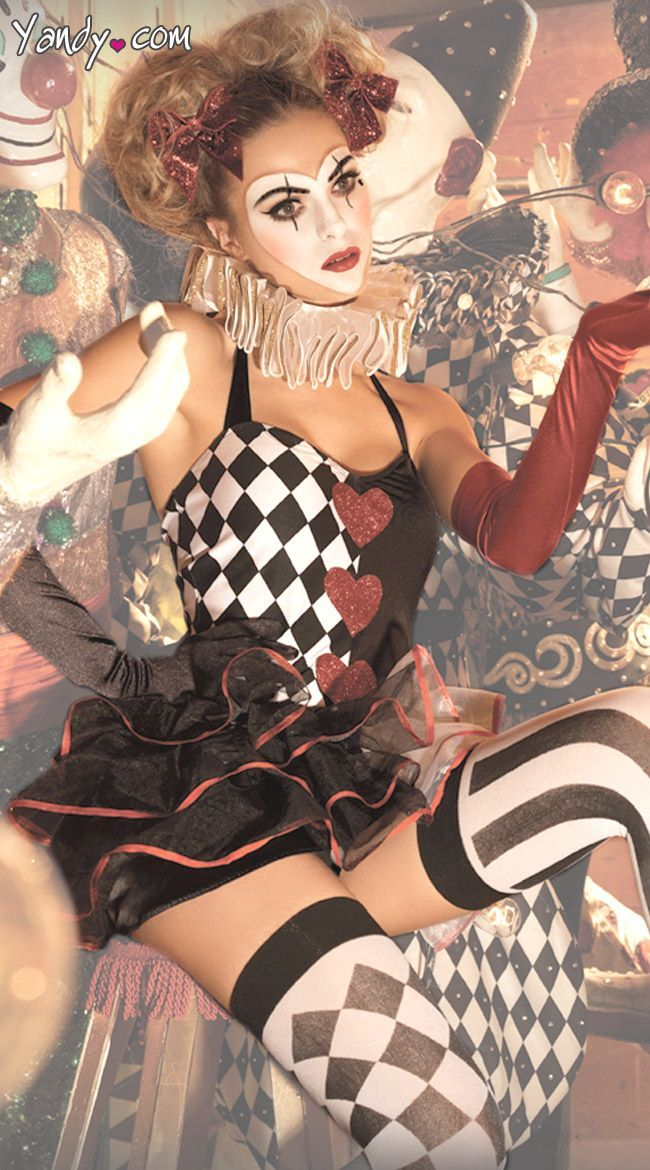Sweetheart Harlequin | Night Circus - Fanciful in Many Ways