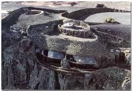 Mirador del Rio, Lanzarote.  Designed by Cesar Manrique.  Several visits with Chris.