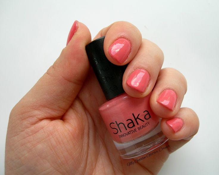 http://www.beautytester.it/tag/swatches-smalto oggi voglio recensirvi uno smalto Shaka che sto utilizzando spesso in questo periodo proprio perché ha un colore prettamente estivo e