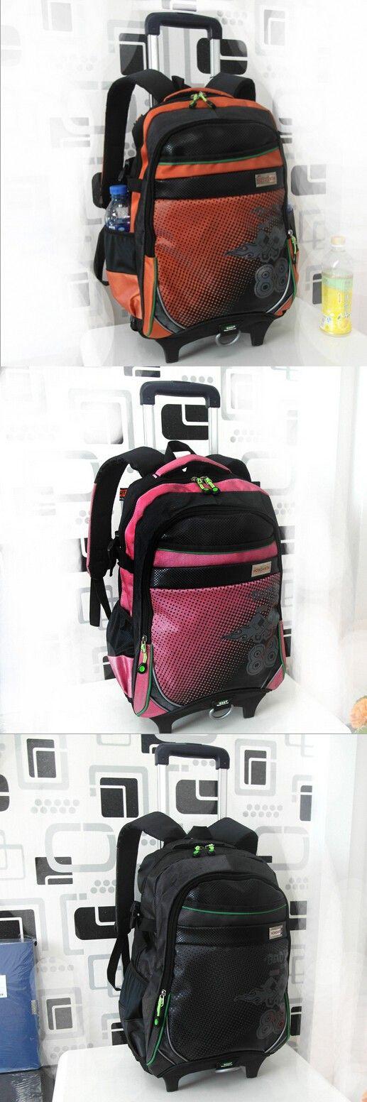 2015 new backpack child school bags kids bag school bags with wheels bolsa mochila infantil trolley bags detachable &88049