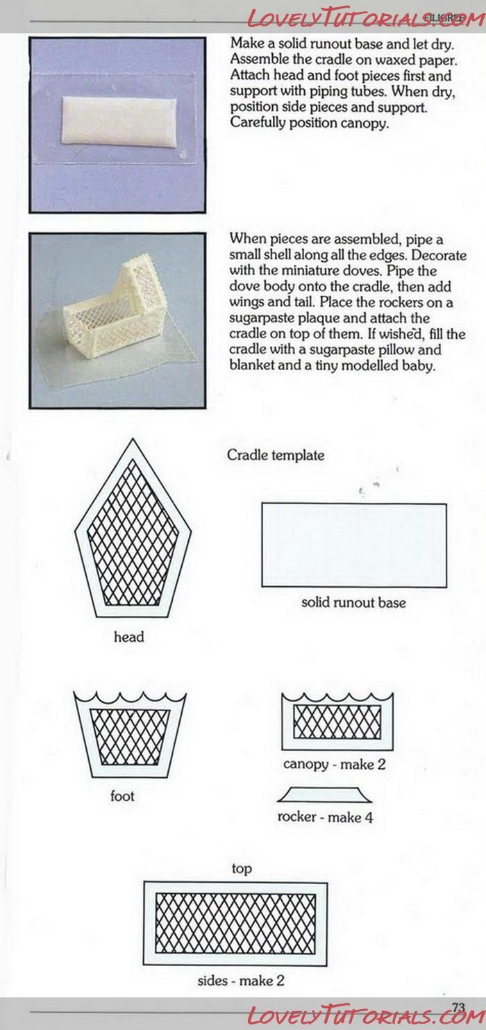Cake Frosting Design Templates : 17 Best images about Cake 3D royal icing templates on ...