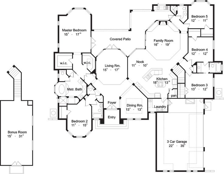 234 best house blueprints images on pinterest home plans house 234 best house blueprints images on pinterest home plans house blueprints and house floor plans malvernweather Choice Image