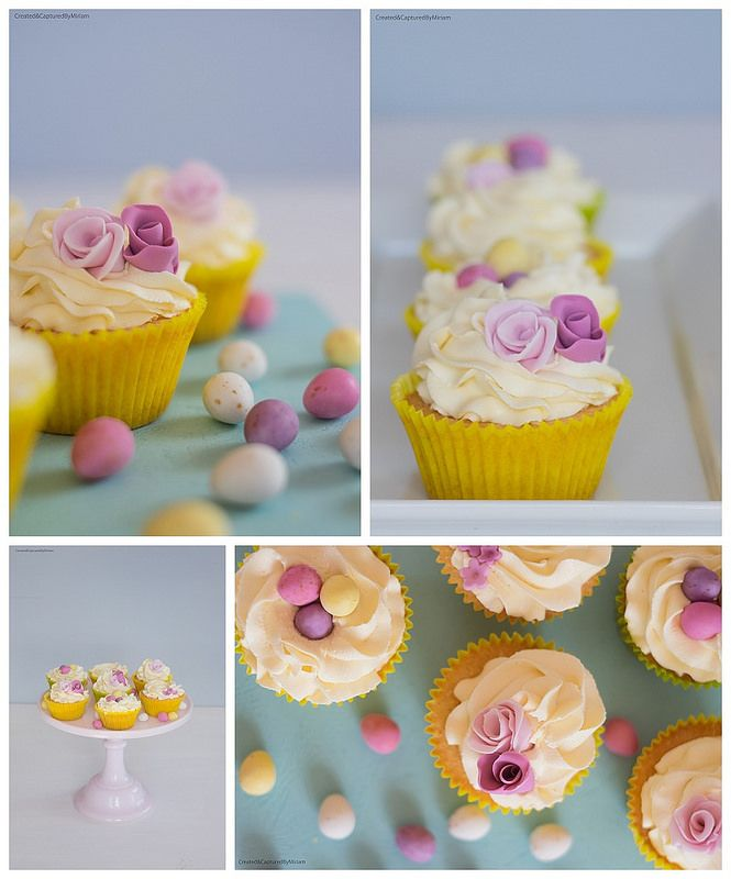 Pastel Easter Cupcakes