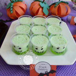 Festa Infantil Halloween - Detalhes mesa decorada - doces personalizados