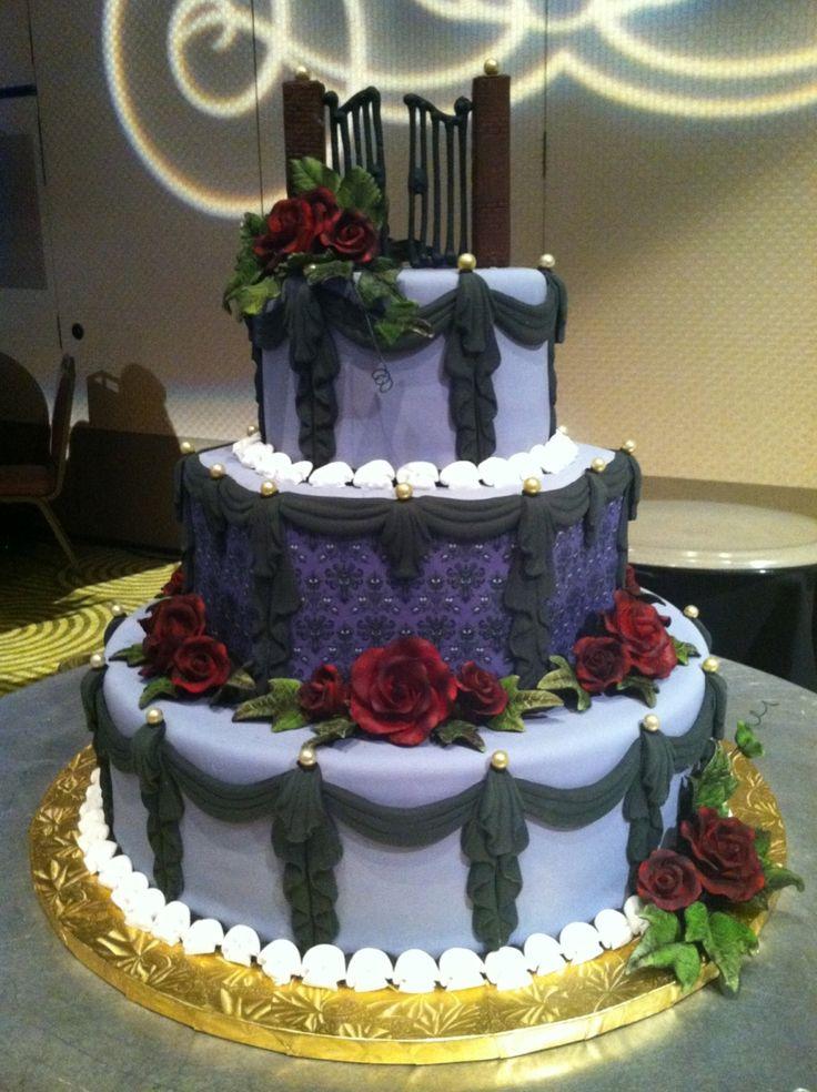 Disney Haunted Mansion Wedding Cake Epic Cakes