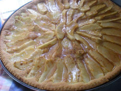 [CRISP]crostata di mele con frolla morbida olio e acqua