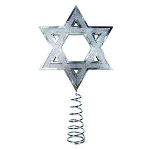 "Interfaith Decorations 9.5"" Hanukkah Tree Topper"