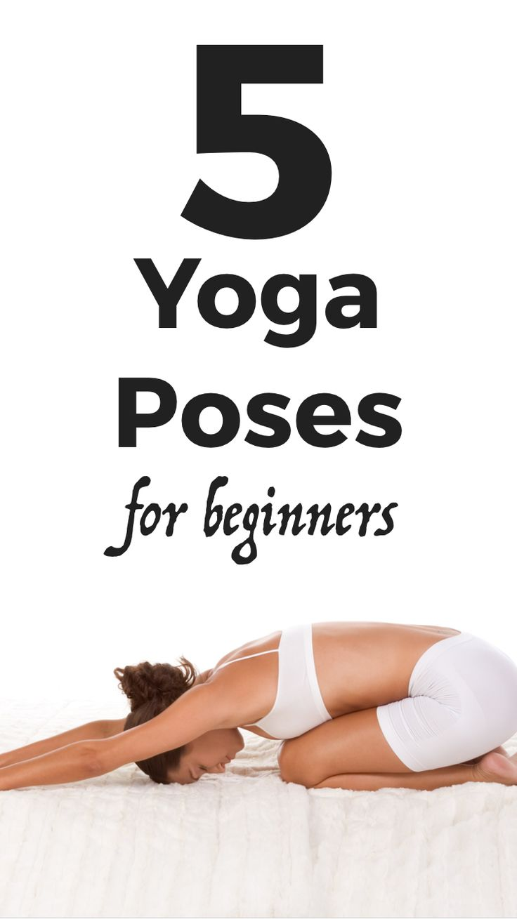 Just starting out with yoga and don't know where to begin? Here are 5 yoga poses for beginners with video examples for you.
