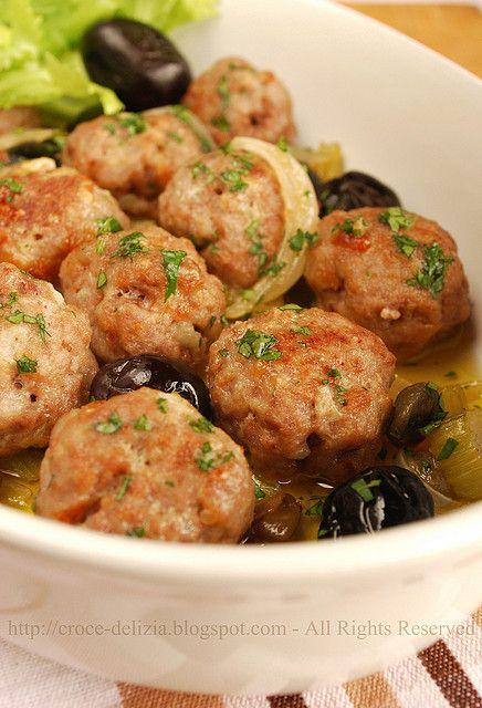 Polpettine al forno by Antonella F., via Flickr