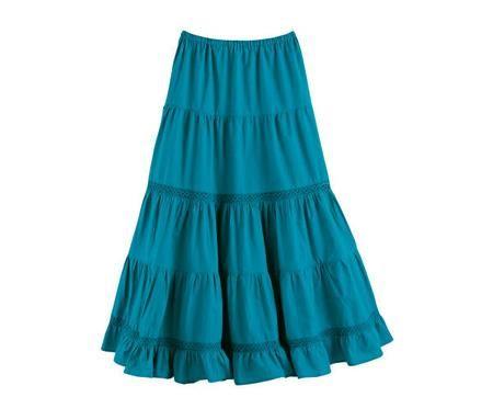 Летняя юбка ярусами