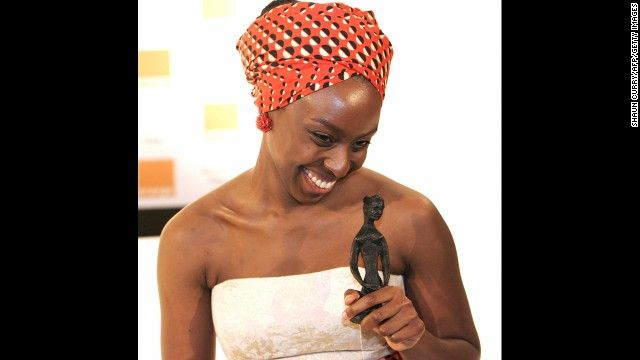 """Author Chimamanda Ngozi Adichie won the Orange Broadband Prize for Fiction for her book """"Half of a Yellow Sun."""" She became more popularly kn..."""