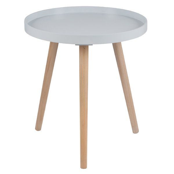 Ida Round Tray Table Tray Table Table Wooden Side Table
