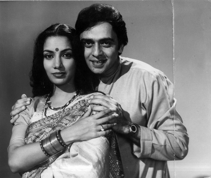 Shabana Azmi and Vinod Mehra.