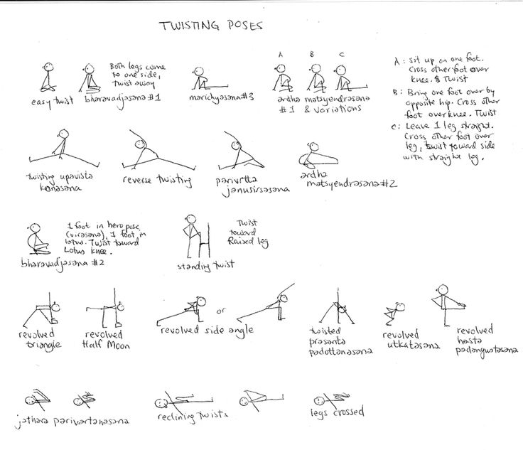 Twists / Twisting Poses | Move it | Pinterest | Search ...